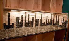 How To Custom Design And Install A Nerdy Granite Tile Backsplash - Photo backsplash