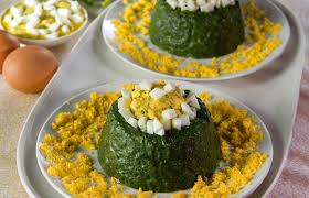 direct cuisines солен пудинг од спанаќ food puddings spinach