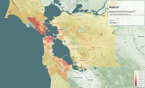 San Francisco On World Map by Silicon Valley Real Estate Market Maps Business Insider