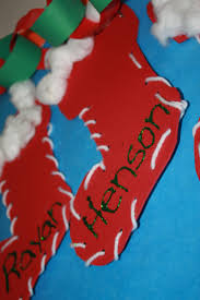 paper stocking craft images craft decoration ideas