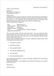 form daftar riwayat hidup pdf download 15 contoh surat lamaran pekerjaan yang baik dan benar