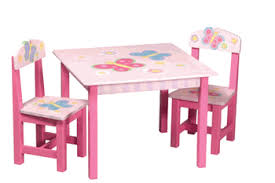 guidecraft childrens table and chairs hand painted wooden chairs kids fancy wooden hand painted