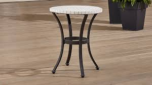 Crate And Barrel Bar Stool Mosaic Side Table Crate And Barrel