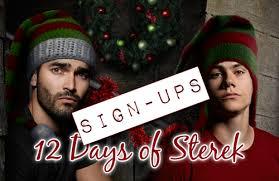 12 days of sterek