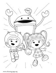 team umizoomi coloring pages getcoloringpages