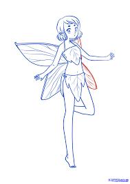 simple fairy outline odkazodvas