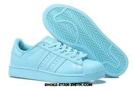 adidas originals light blue adidas superstar 80s supercolor womens casual sneakers light blue