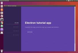 tutorial on ubuntu electron packager tutorial christian engvall