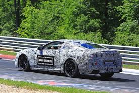 bmw supercar m8 here u0027s the new bmw m8 doing its thing on the nurburgring