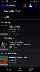 Walking Map Boston by The Virtual Walk Andriod App Transports You To Different Routes In