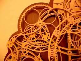 7 Free Wooden Gear Clock Plans by Wooden Calendar Clock By Lukas Youtube