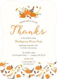 thanksgiving invitation wording from purpletrail