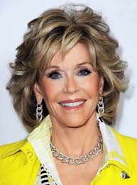 are jane fonda hairstyles wigs or her own hair jane fonda medium wavy layered synthetic capless wig 12 inches