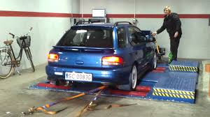 subaru station wagon wrx subaru impreza gt wagon gc8 gf8 dyno h u0026s exhaust youtube