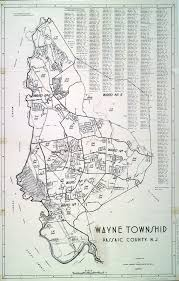 Wayne County Tax Map Historical Passaic County New Jersey Maps