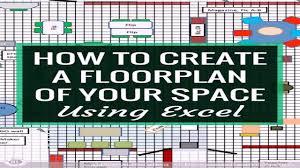 create an office floor plan office floor plan excel template youtube