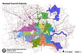 houston map districts district j burn