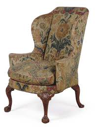 Antique High Back Chairs Antique Style 18th Century George Iii Wingback Chair Upholstering