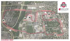 Virginia Tech Parking Map by The Ohio State 4 Miler Columbus Oh 10 22 2017 My Best Runs