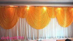 wedding backdrop ireland 3m 6m wedding backdrop with swags backcloth party curtain