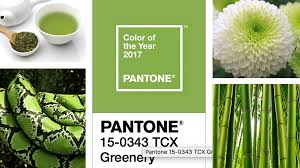 color trends greenery notes on design