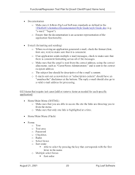 fig leaf software functional regression test plan template