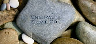 engraved stones engraved co your words engraved in
