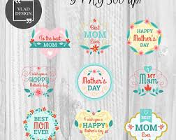 mothers day stickers mothers day stickers etsy