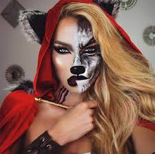 Werewolf Halloween Costumes Girls 50 Terrifyingly Creative Halloween Makeup Ideas Women