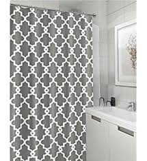 Shower Curtain 84 Length Amazon Com Interdesign Waterproof Mold And Mildew Resistant