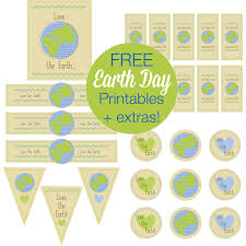 free earth day printables and more u2013 printables for kids parties