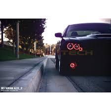 2012 dodge charger fog light bulb dodge charger v 3 fusion color change led halo fog light kit 2005