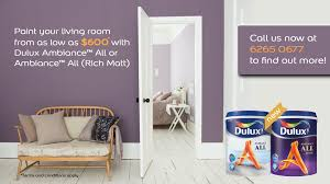 dulux painting packages paint and save more than 900 dulux
