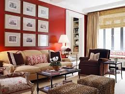 photo collection for modern living room decorating ideas with red