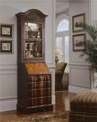 Black Secretary Desk With Hutch by Seven Seas Secretary Desk W Display Hutch By Hooker Furniture