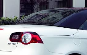 volkswagen convertible eos white vw eos white night new special edition model with contrasting