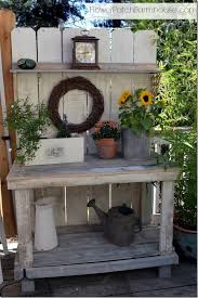 390 best potting bench and tables images on pinterest potting