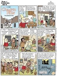 thanksgiving cartoon jokes newspaper rock november 2013
