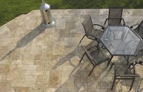 travertine patio pavers patio pavers u2013 foxwood