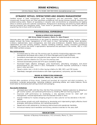 8 operation manager resume samples emails sample