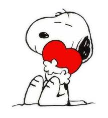 snoopy valentine clipart