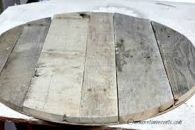 reclaimed wood round coffee table reclaimed pallet wood coffee table