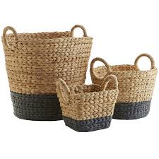 decorative baskets u0026 storage pier 1 imports