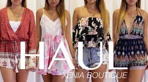 haul xenia boutique australian fashion my favorite online