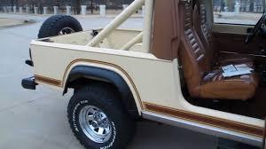scrambler jeep years 1982 jeep scrambler survivor all original 42 000 miles utah