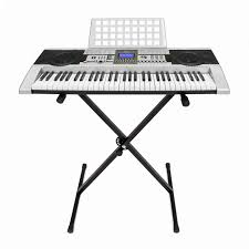 electronic piano keyboard 61 key music key board piano with x