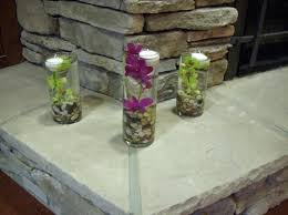 Purple Centerpieces Green Purple Centerpiece Centerpieces Indoor Ceremony Spring