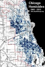 Chicago City Limits Map by Chicago Homicides 2001 2015 983x1469 Oc Mapporn