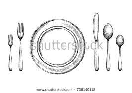 cutlery vector set free vector art from vecteezy