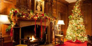 Homes Decorated For Christmas On The Inside Meadow Brook Hall Rochester Mi